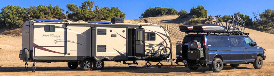Cell phone signal booster systems for RVs, motorhomes, fifth-wheels, and adventure vans from Powerful Signal