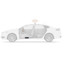 Cel-Fi GO Apartment/Condo Portable & Mobile cell signal booster TS559111 car setup diagram
