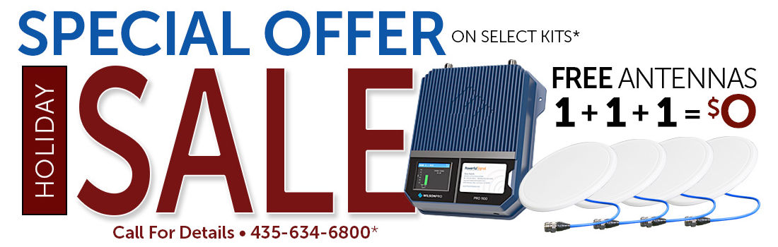 Holiday sale: Special offer on select cell signal booster kits