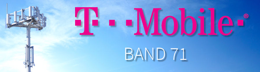 T-Mobile band 71 600 MHz cellular frequency cell signal boosters