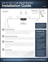 Download Powerful Signal's Cel-Fi GO X installation guide (PDF)