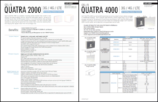 Download the Cel-Fi QUATRA 2000 data sheet or the Cel-Fi QUATRA 4000 data sheet (PDFs)
