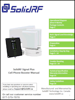 Download the SolidRF Signal Plus user manual (PDF)