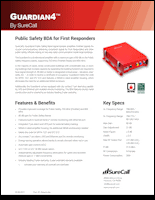 Download the SureCall Guardian4 spec sheet (PDF)