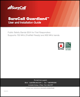 Download the SureCall Guardian4 user manual (PDF)