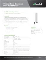 Download the SureCall omni antenna SC-228W data sheet (PDF)