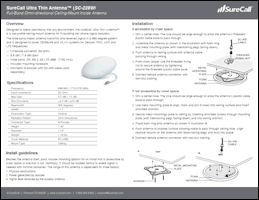 Download the SureCall SC-228W installation guide (PDF)