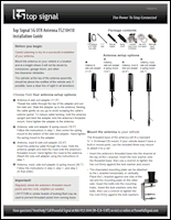 Download the Top Signal 5G OTR antenna TS210401 installation guide (PDF)