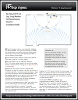 Download the Top Signal Cel-Fi Easy Setup Window installation guide (PDF)