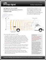 Download the Top Signal Cel-Fi GO 65/100 dB RV Park & Travel installation guide (PDF)