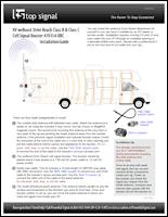 RV weBoost Drive Reach Class B & Class C with High-Gain Whip Antenna 470154-RBC installation guide (PDF)