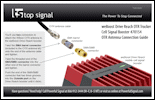 Download the weBoost Drive Reach OTR Trucker Cell Signal Booster 470154 OTR Antenna connection Guide (PDF)
