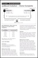 Download the weBoost Installed | Home Complete 474445 installer information guide (PDF)