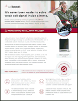 Download the weBoost Installed | Home Complete 474445 product information sheet (PDF)