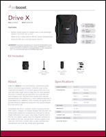 Download the weBoost Drive X 475021 spec sheet (PDF)