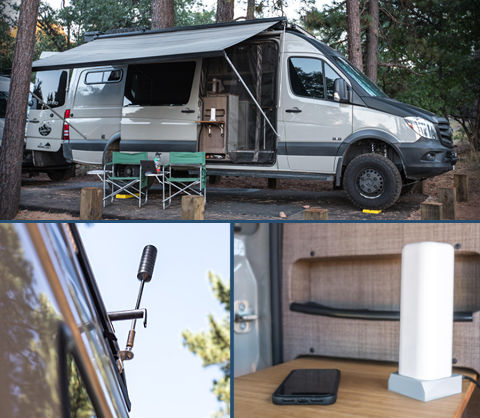 Cel-Fi GO Adventure Van Cell Signal Booster TS559129 Lifestyle Images