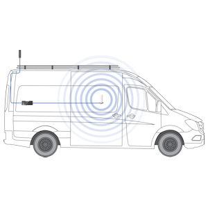 Cel-Fi GO Adventure Van Cell Signal Booster TS559129 Setup Diagrams