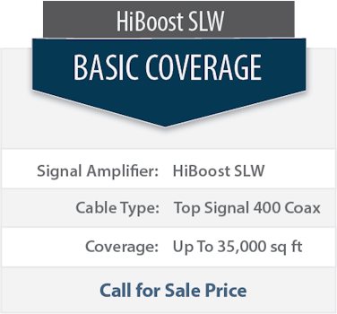 Top Signal 2X HighBoost SLW double coverage comparison chart 1x