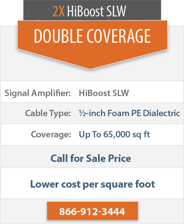 Top Signal 2X HighBoost SLW double coverage comparison chart 2x