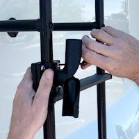 Top Signal SkyPole 12-Foot RV ladder mount for cellular antennas TS431010 setup mount twist bracket