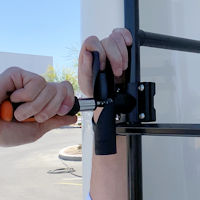 Top Signal SkyPole 12-Foot RV ladder mount for cellular antennas TS431010 setup tighten twist bracket