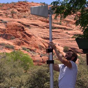 weBoost Destination RV 470159 telescoping antenna pole 900203 setup