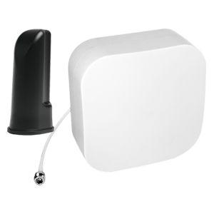 weBoost Drive Reach RV desktop antenna 311235 and Top Signal EDGE flex-mount panel antenna TS260820