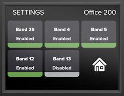 weBoost Office 200 LCD display