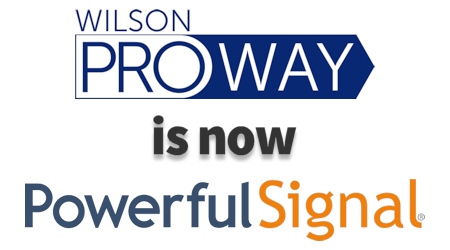 WilsonProWay is now Powerful Signal