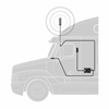 weBoost Drive 4G-X Cell Phone Signal Booster for RVs/Trucks 470510: Typical Installation (Truck)