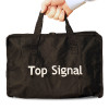 Soft carry case for cell phone signal booster and antennas components