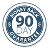 Products have a 90-day return period from date of original purchase