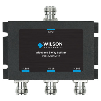 Wilson 3-Way Splitter 50 Ohm N-Female 859980 (Front)