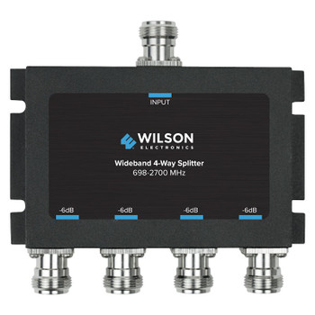 Wilson 4-Way Splitter 50 Ohm N-Female 859981 (Front)