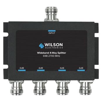 Wilson 4-Way Splitter 50 Ohm N-Female 859981 (Front)