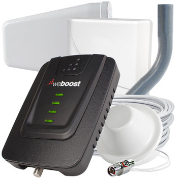 weBoost Connect 4G Cell Phone Signal Booster for Homes with Bonus Dome Antenna 470103: Kit