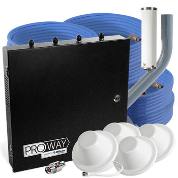 WilsonPro 70 Office PRO Plenum System with 4 Antennas 465134 (50 Ohm): Kit