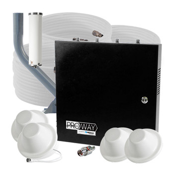 WilsonPro 70 PLUS Office PRO Cell Signal Booster MAX Plenum 4 Antennas (463127-PRO-P)