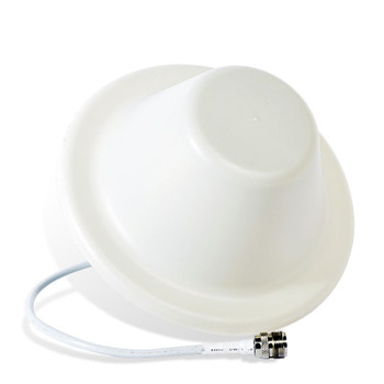 Top Signal TS250374 4G/3G Indoor Ceiling-Mount Omnidirectional Dome Antenna with N-Female Connector (50 Ohm): Perspective