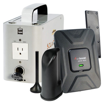 weBoost Drive 4G-X Portable Off-Grid Cell Phone Signal Booster 470510: Kit Contents