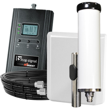 Top Signal HiBoost 4K Marine Cabin Cell Signal Booster TS542611: Kit
