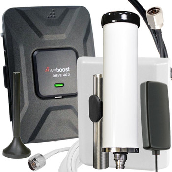 weBoost Drive 4G-X 2-in-1 Marine/Vehicle Cell Signal Booster 470510: Kit