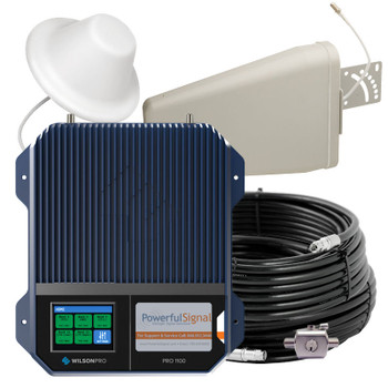 WilsonPro 1100 Wall-Mount Commercial Cellular Booster 75 Ohm 461147: Kit