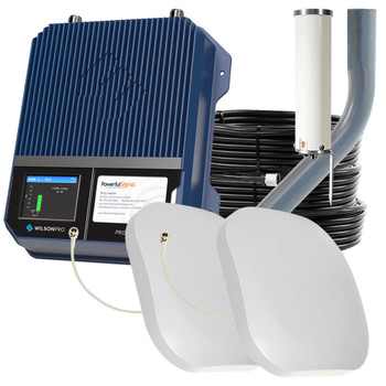 WilsonPro 1100 Commercial Cellular Booster 50 Ohm 2 Antennas | Top Signal Series | 460147-PS2