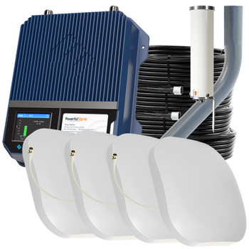 WilsonPro 1100 Commercial Cellular Booster 50 Ohm 4 Antennas | Top Signal Series | 460147-PS4