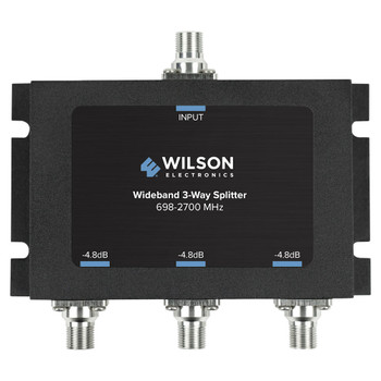 Wilson 3-Way Splitter 75 Ohm F-Female 850035