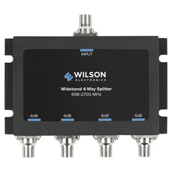 Wilson 4-Way Splitter 75 Ohm F-Female 850036