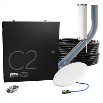 Cel-Fi GO 2-Carrier Verizon AT&T 100 dB Cell Signal Booster System