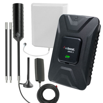 weBoost Drive X RV+Car 2-in-1 Cell Signal Booster Kit (475021-RVX)