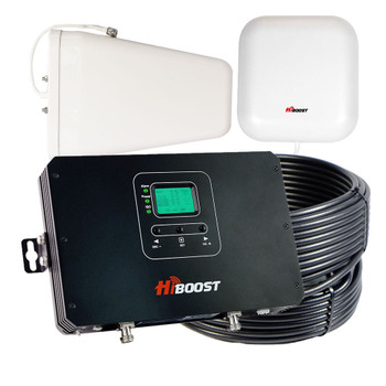 HiBoost Commercial 30K Pro Cell Signal Booster Pro25-5S-LCD-R Refurbished: Kit